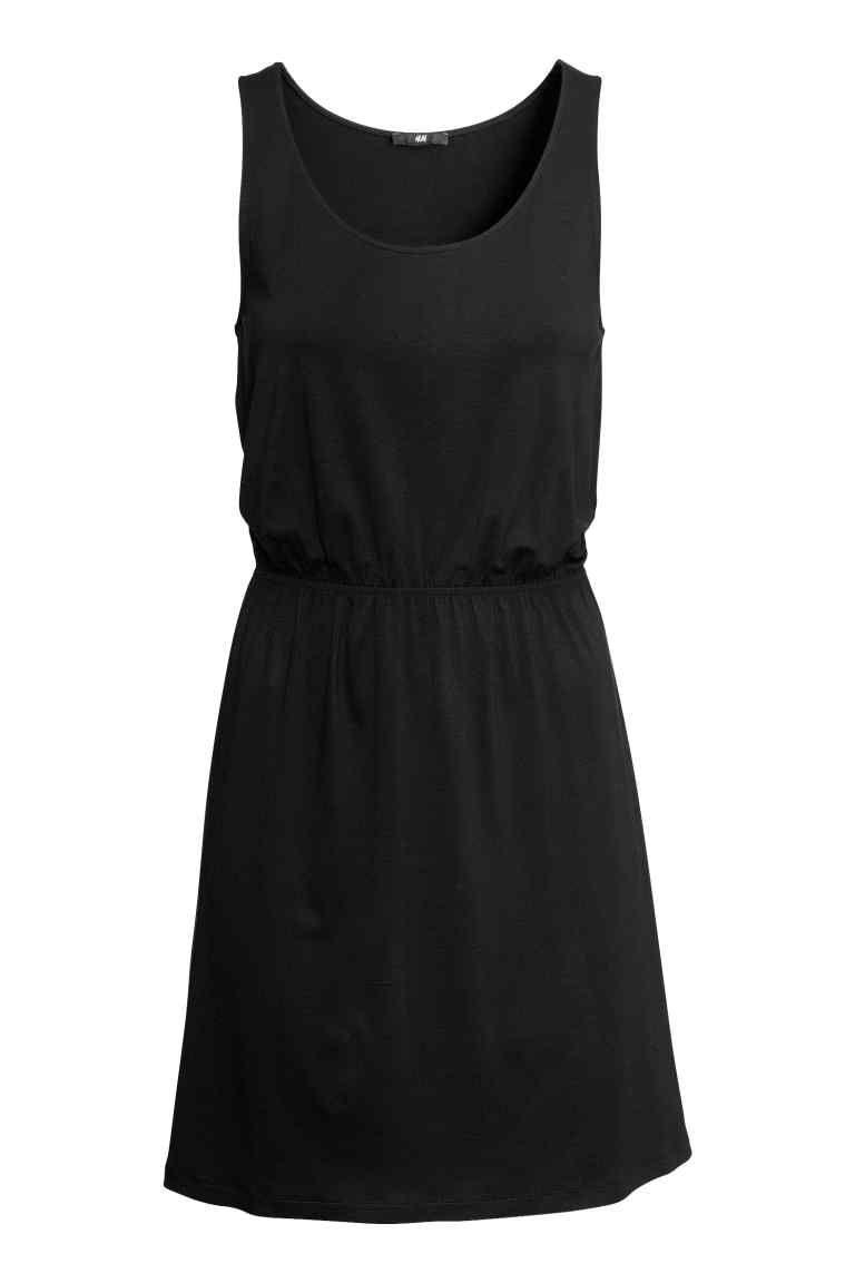 robe basique noire hm!!!!