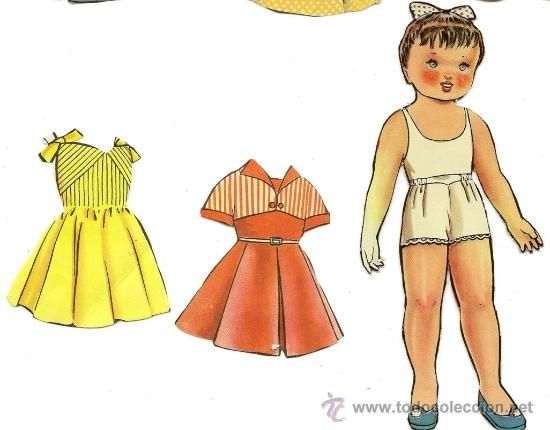 15 Anos Dolls: MUÑECA MARIQUITA PÉREZ RECORTABLE 15 CENTIMETROS CON 2