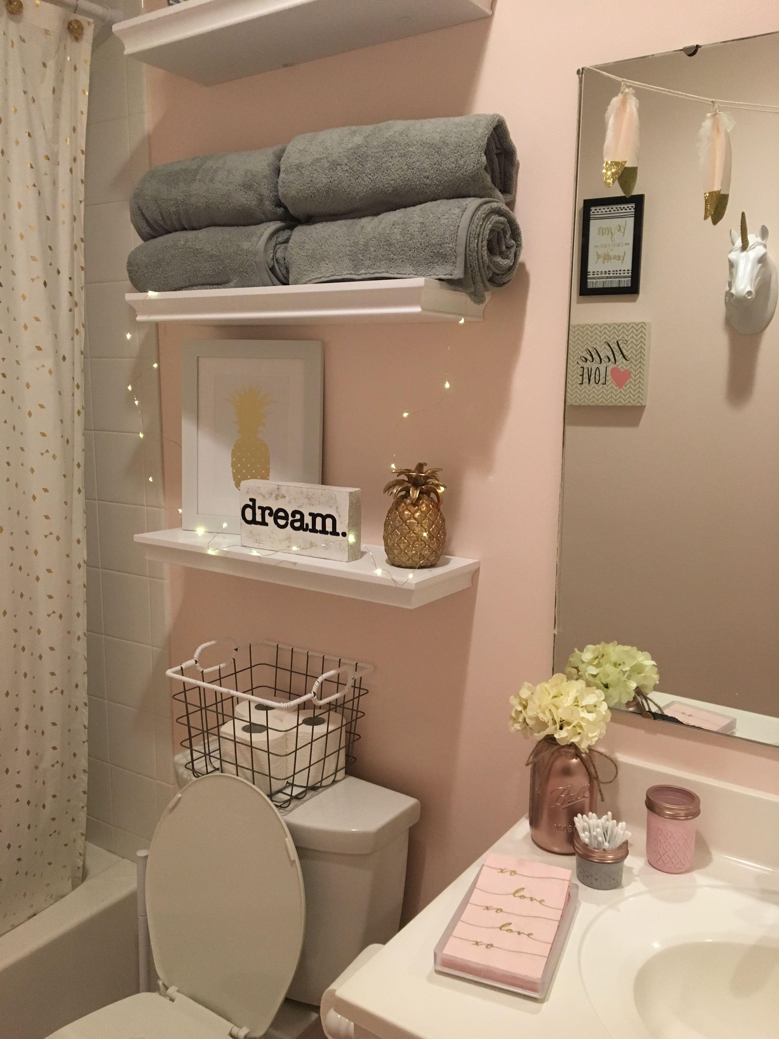 Pink And Grey Bathroom Decor Ideas