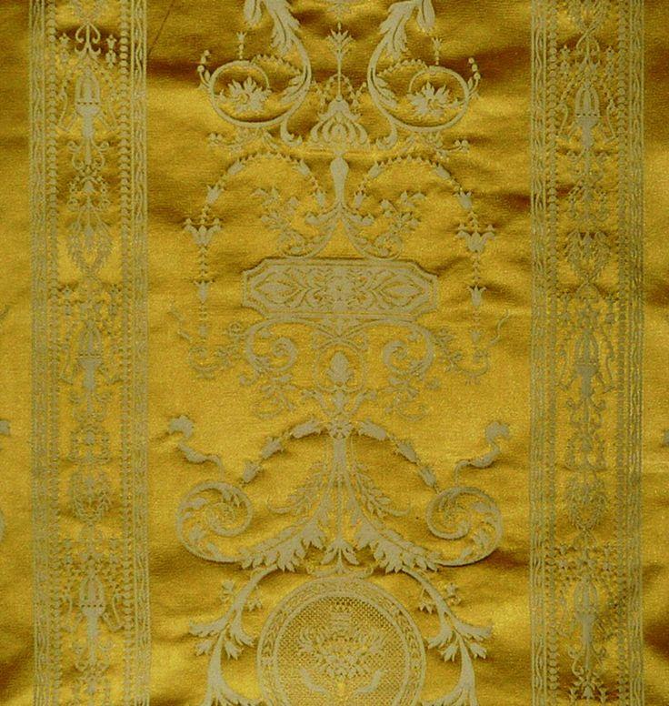 Scalamandre damask - Hepplewhite, gold