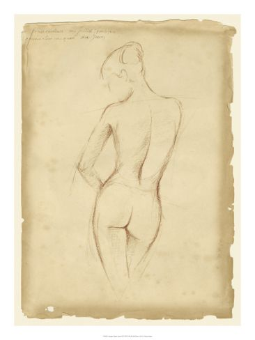 Antique Figure Study II Print by Ethan Harper at Art.com I just purchased this.