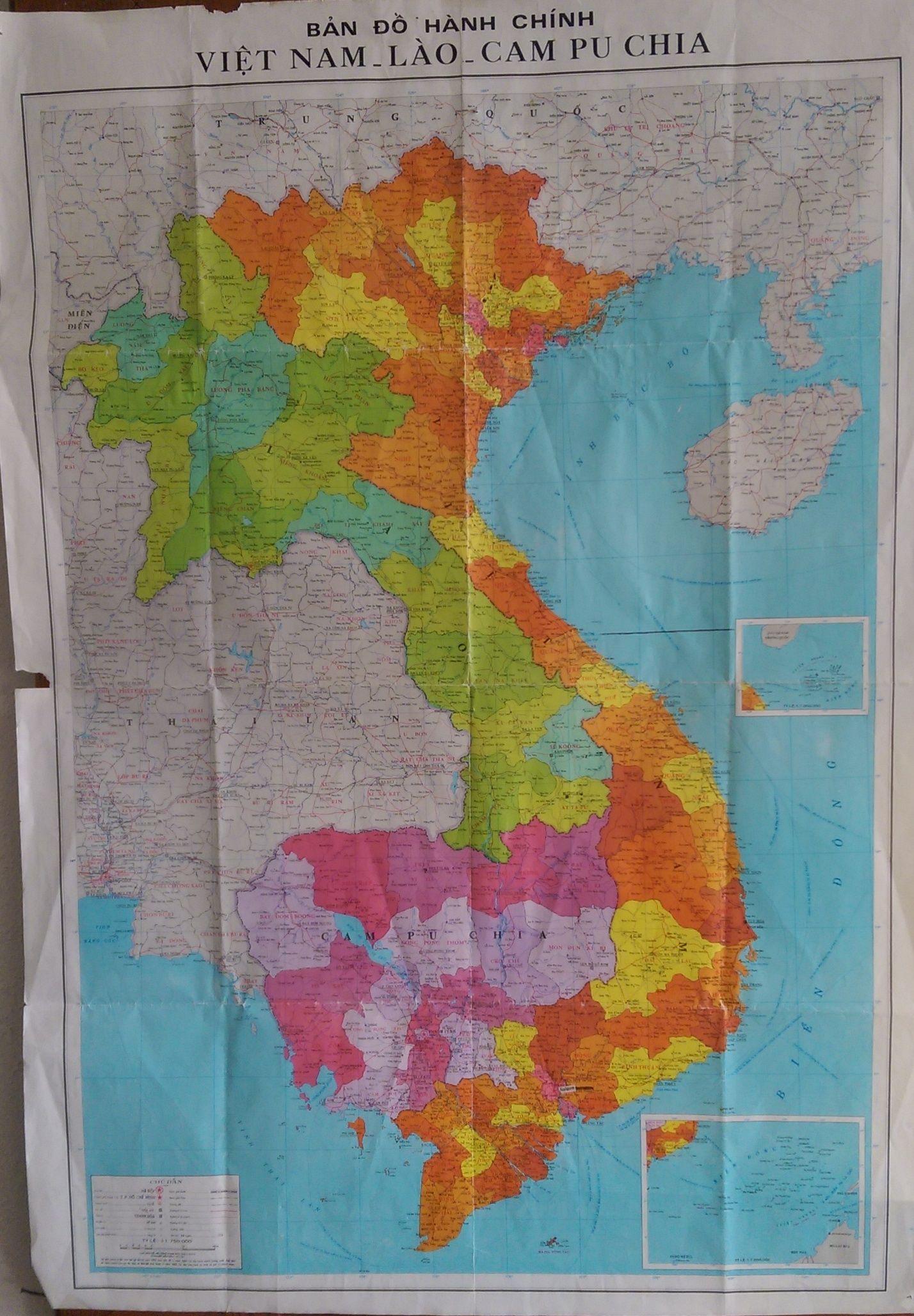A Little Bit Better Map Of Vietnam