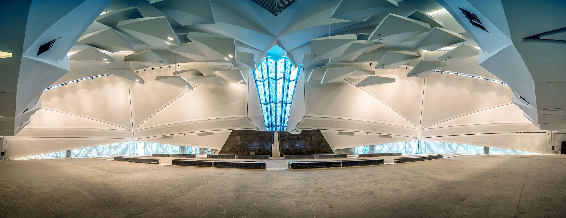 تصميم جامع مركز الملك عبدالله المالي الرياض Design Of The King Abdullah Financial Center Mosque Riyadh صور ل مسجد و Mosque Design Grand Mosque Mosque
