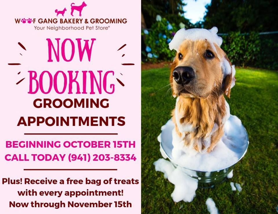 Re Post Booking Grooming Appointments Woofgangbakery