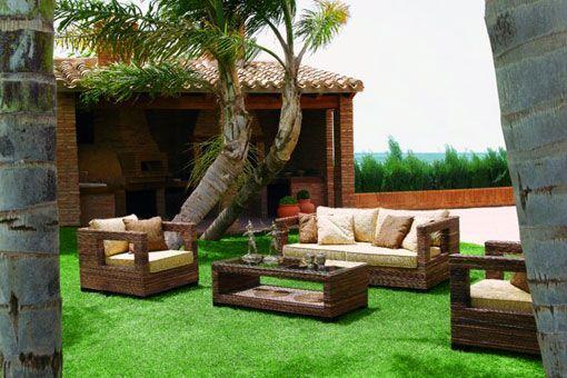 muebles jardin | DECORACION | Modern garden furniture, Outdoor decor ...