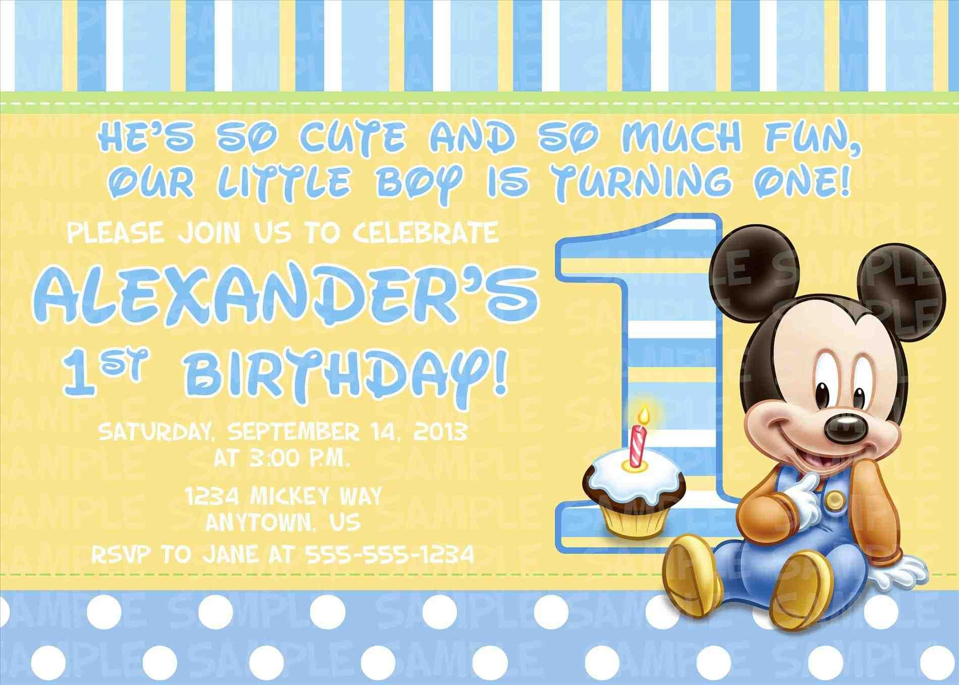 nice mickey and minnie baby shower invitation ideas. baby boy shower ...