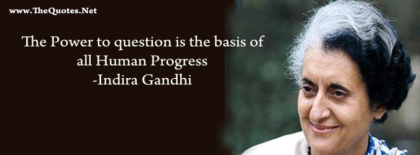 Indira Gandhi Quote Facebook Cover Photos Quotes Woman Quotes
