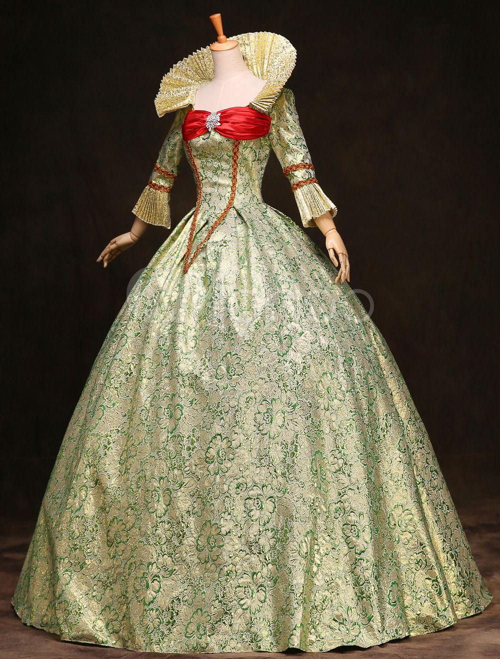 Milanoo / Royal Retro Costume Women's Victorian Ball Gown