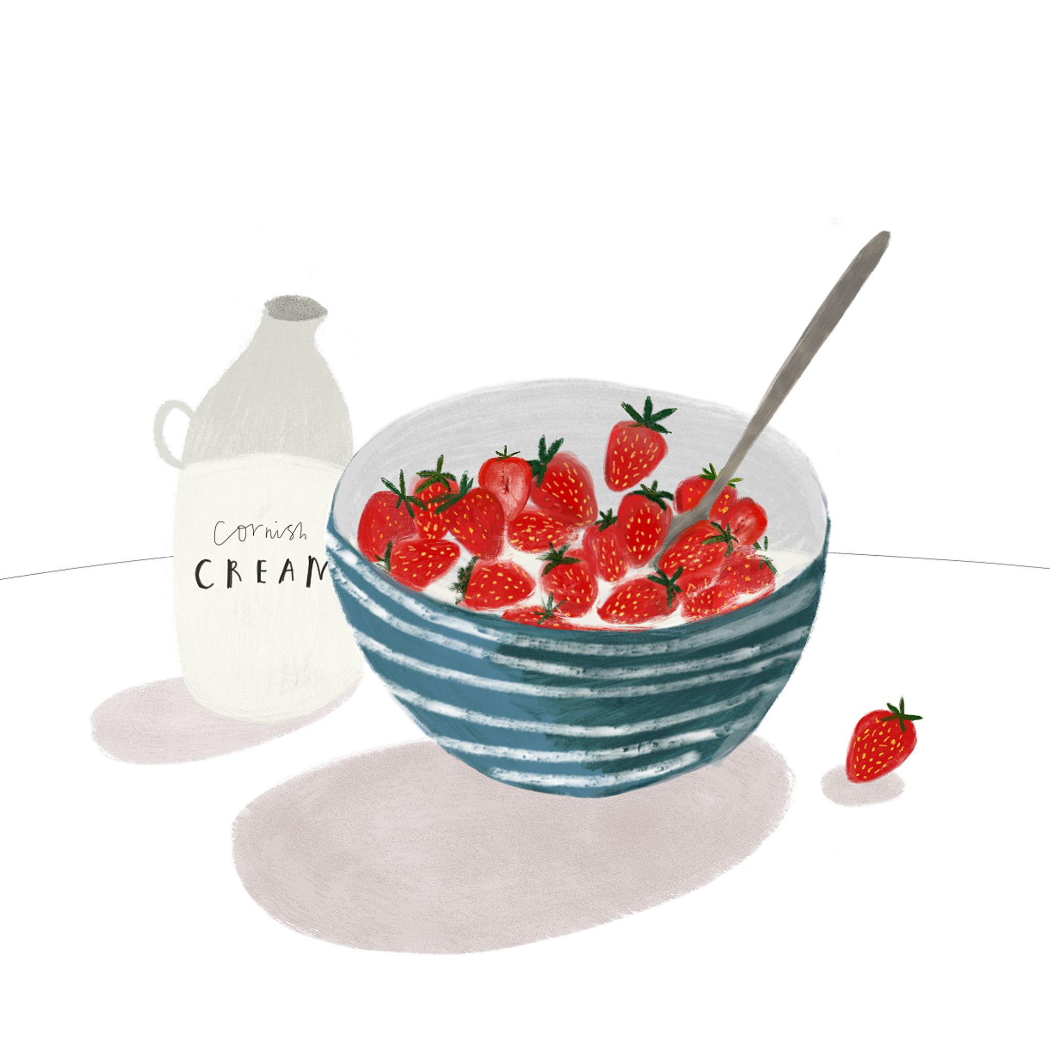 Greetings Cards Gifts Homewares Katy Pillinger Designs Food Illustrations Fruit Illustration Illustration Food