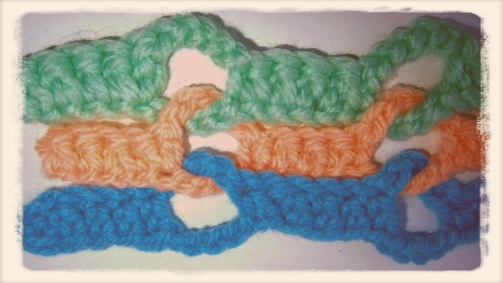 Tutorial Punto Onda Crochet - Patrones Crochet   PUNTOS   Pinterest ...