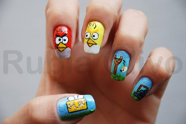 Nail art is so not my thing but this is kind of the best thing ever.