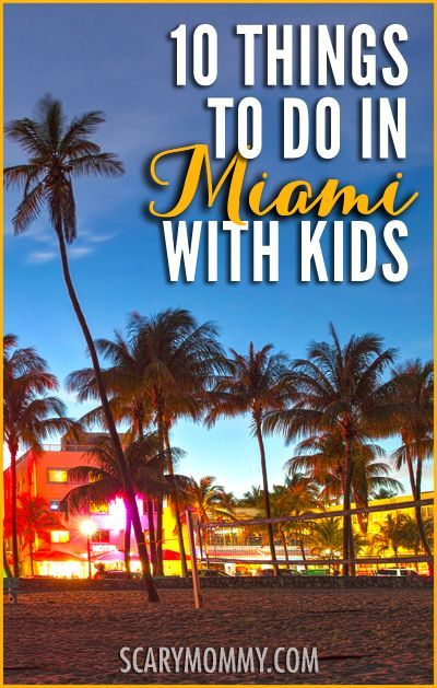 Things To Do In Miami With Kids Kids Vacation Family Spring Break Vacations Family Travel Destinations