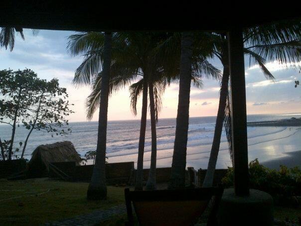 The beach, El Salvador