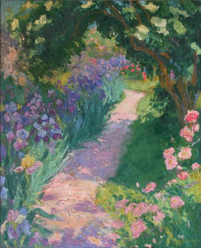 In a Summer Garden  - Ida Gerhardi  1905  German 1862-1927