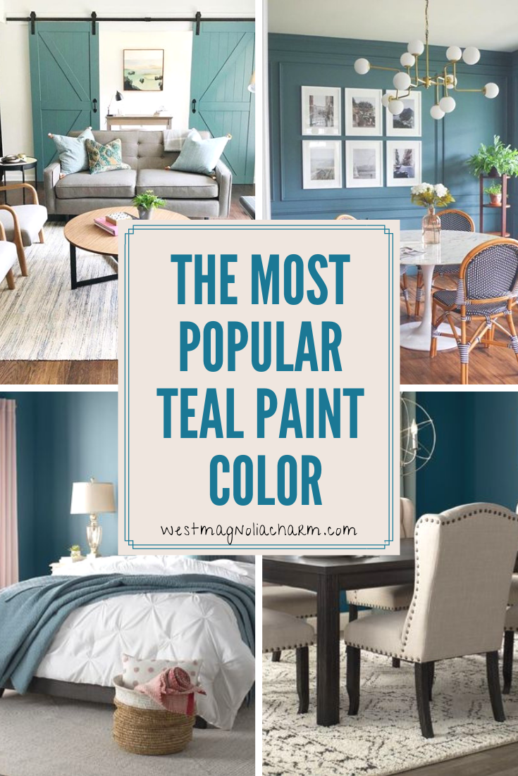 The Best Teal Paint Color Riverway Sw 6222 Teal Paint Colors