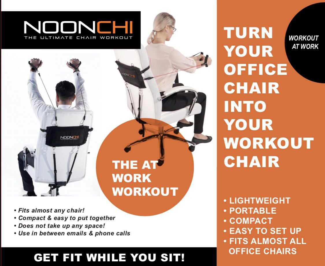 Best office workout equipment 2019! Noonchi yoga fit
