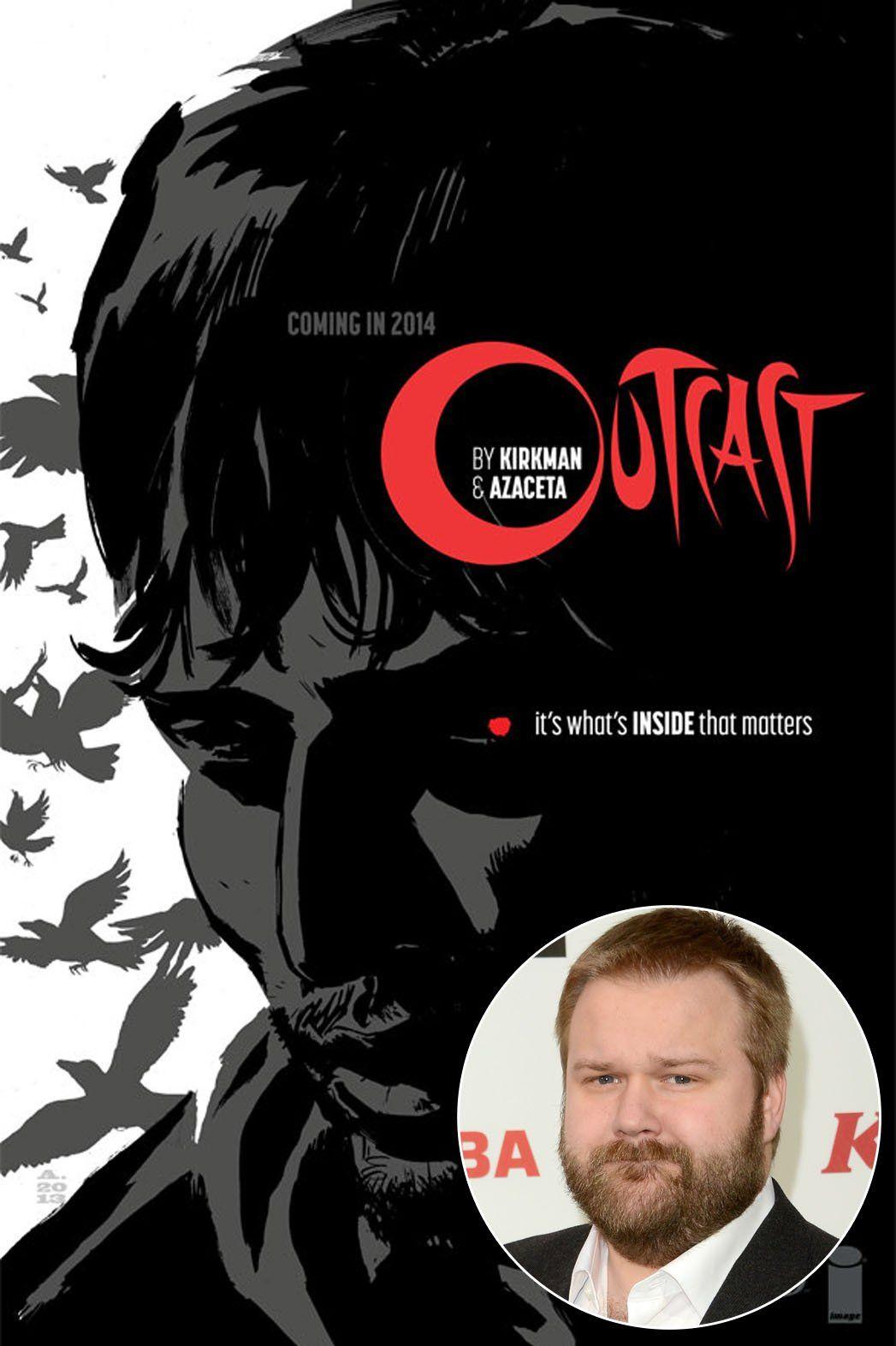 Robert Kirkman Talks Outcast Says Walking Dead Will Return With Intense Season 5 Cinemax Horror Comics Outcast