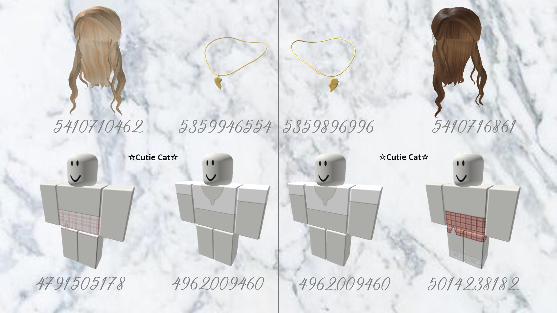 Bff Match Outfits Codes Roblox Codes Roblox Pictures Roblox Sets Heyy guys here are 50 brown roblox hair codes you can use on games such as bloxburg! bff match outfits codes roblox codes