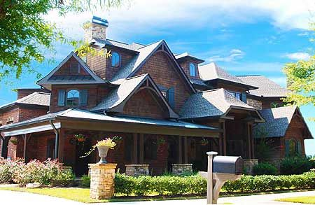 Gorgeous Craftsman Home With 2 Story Library Craftsman House House Plans Architectural Design House Plans
