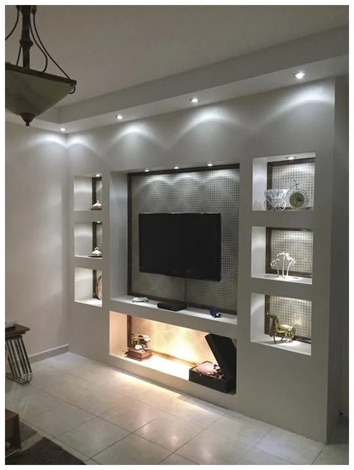 35 Best Tv Wall Designs And Ideas Fashionova Us Living Room Shelves Living Room Tv Wall Living Room Tv #tv #wall #design #ideas #for #living #room