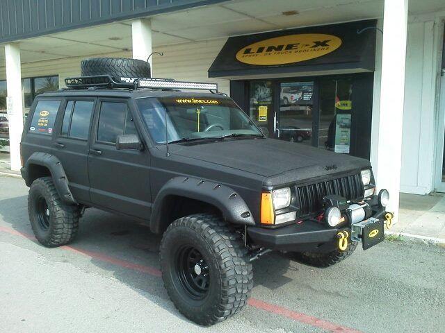 Nice Line X D Cherokee Linex Toughstuff Jeep Cherokee Xj Jeep