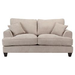 Buy Kensington Fabric Small Sofa Light Grey From Our