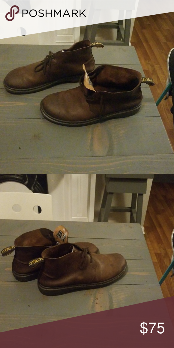 Dr Martens Ember Chuka Boots, Men's Fashion, Men's Footwear