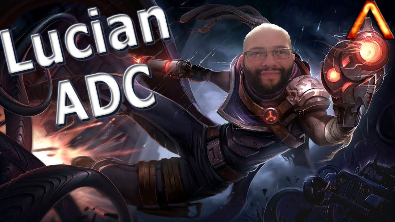Lucian ADC Full Game Commentary League of legends, Lol