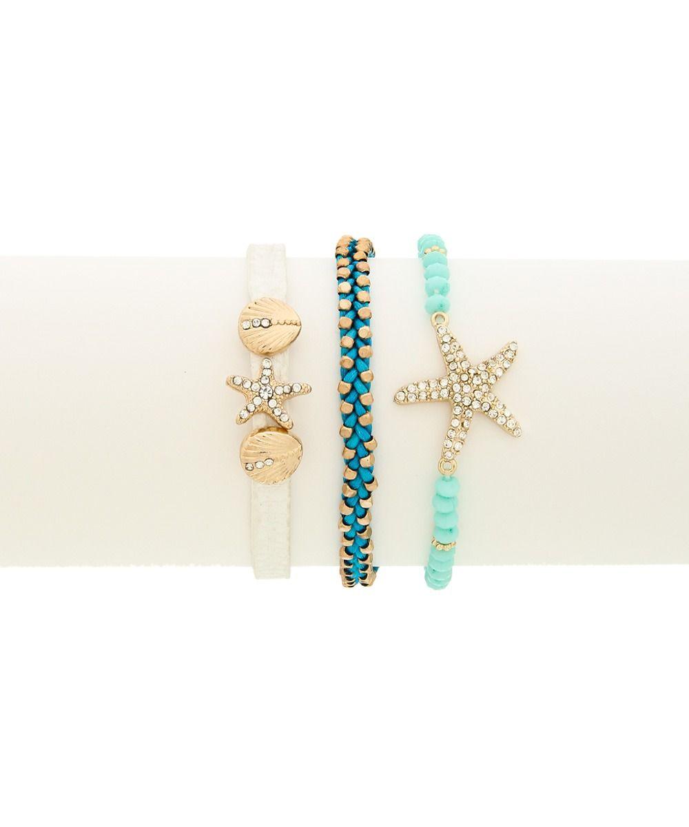 Beach Babe Bracelet Set #shoplately