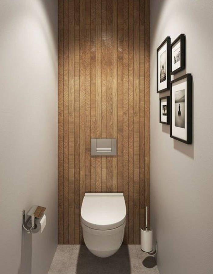 Décorer ses toilettes sans faire ringard - Elle Décoration | Small ...