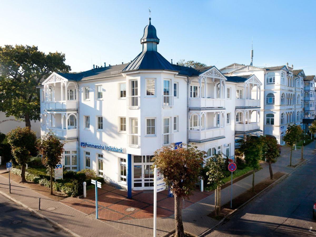 Die Villa Volksbank Ferienwohnung auf Rügen Die