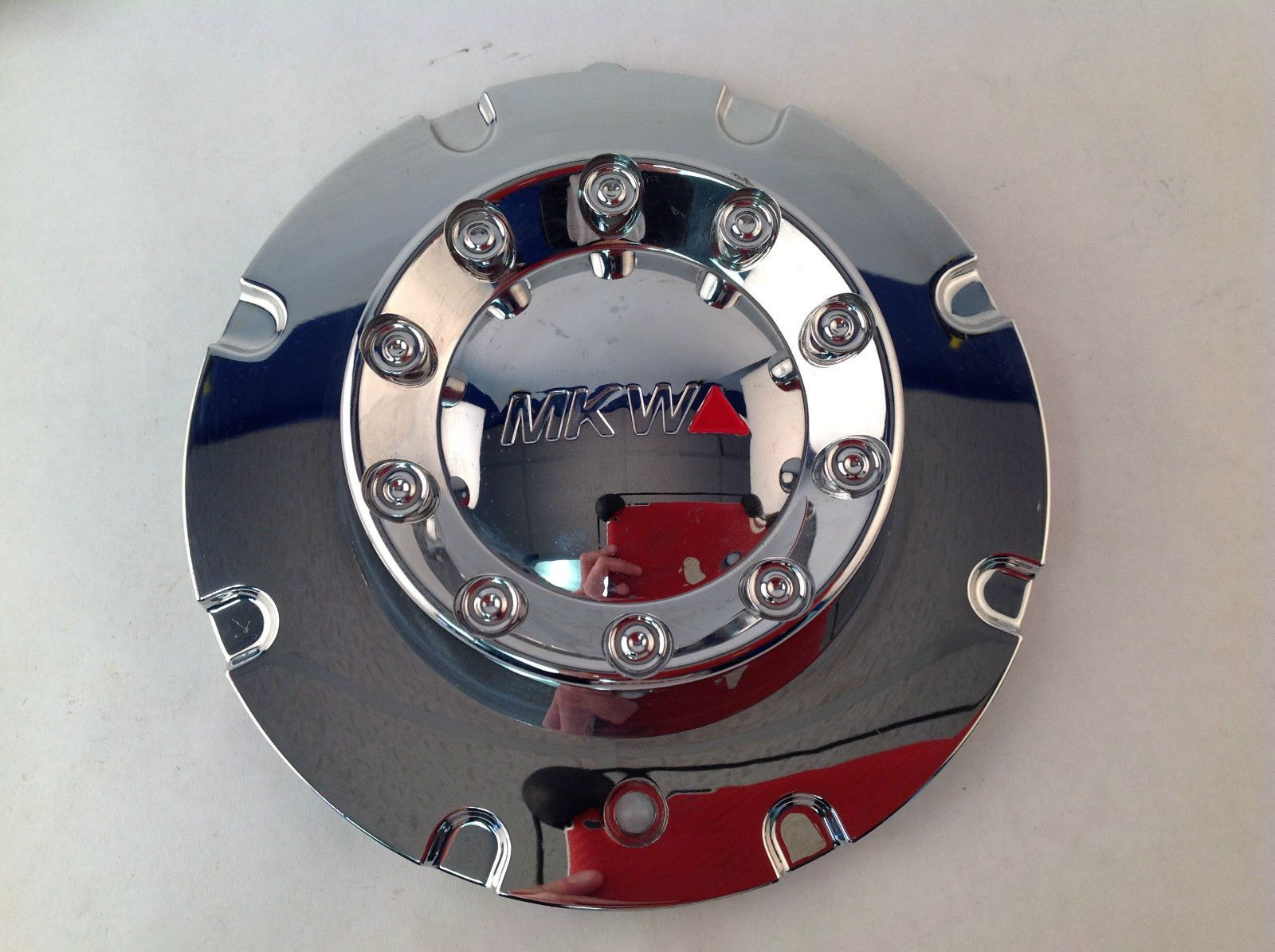 Mkw M60 Chrome Aftermarket Wheel Center Cap 2 Piece Mkc