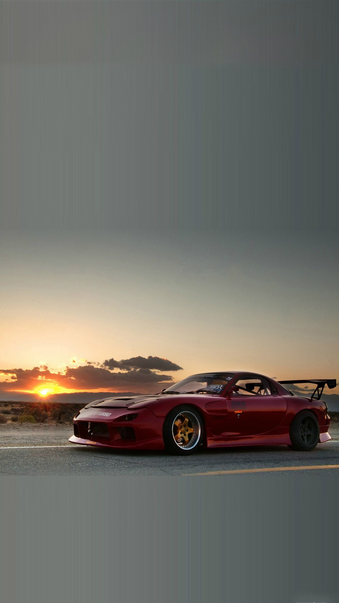 Mazda RX7 Sunset iPhone 8 Wallpapers Mazda rx7, Jdm