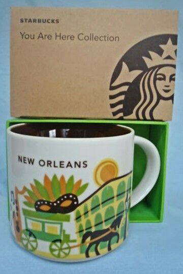 Mug Here You Collection New Are Orleans Starbucks RL5q3cjS4A