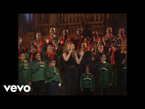 Mariah Carey - Jesus Born On This Day (Live at St. John The Divine) - YouTube | Mariah carey ...