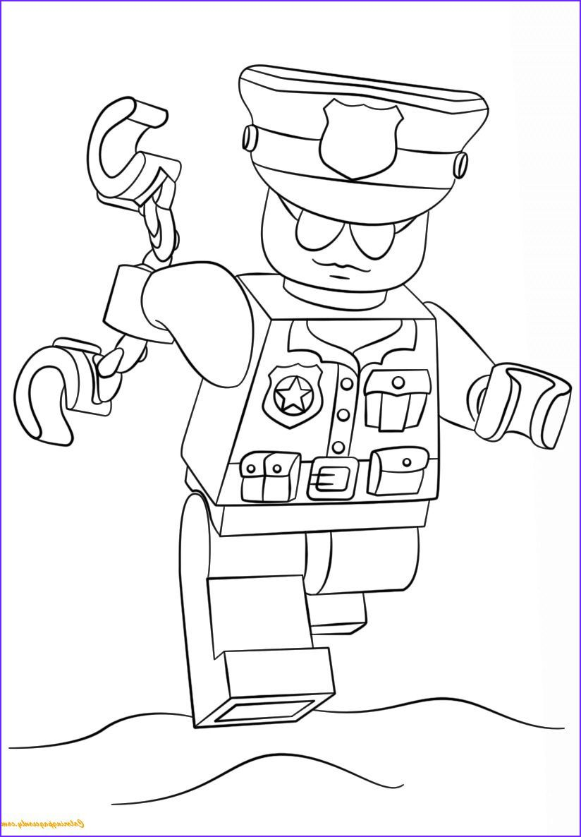 8 Elegant Lego Police Coloring Pages Photos In 2020 Lego Coloring Pages Lego Movie Coloring Pages Lego Police