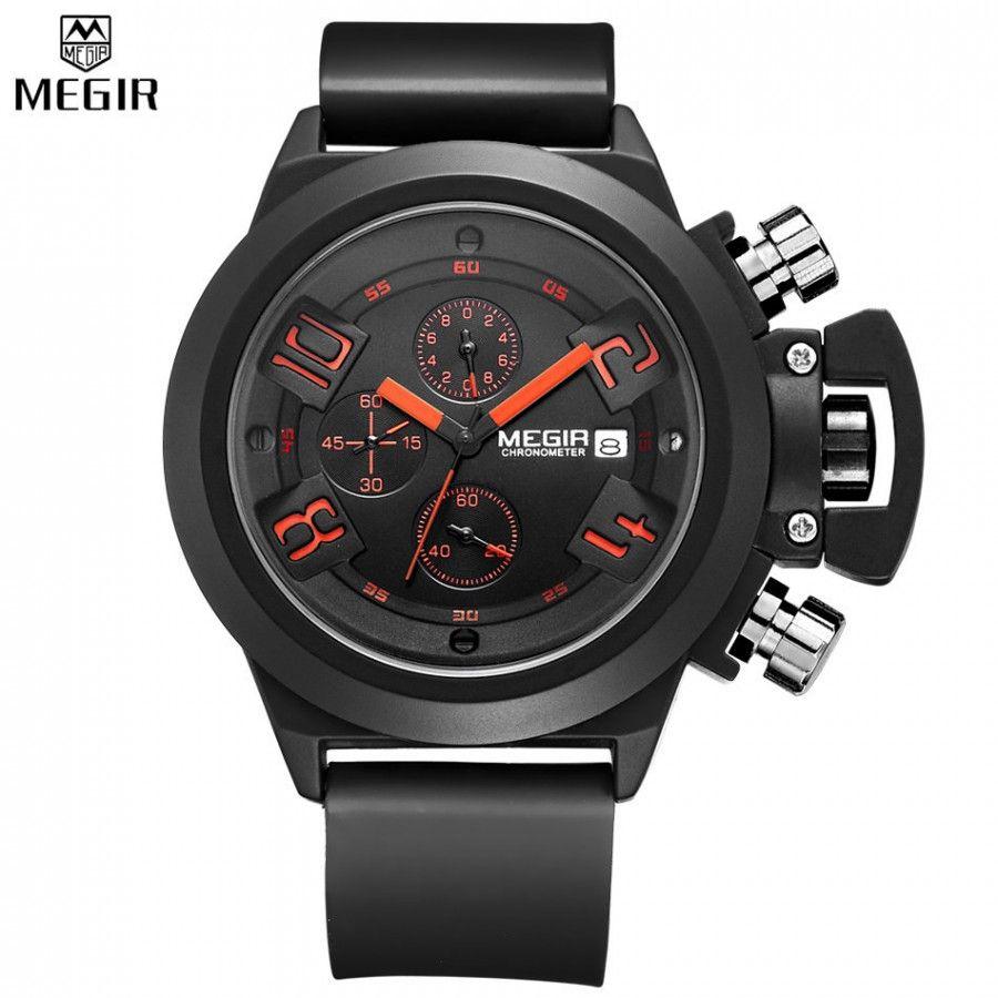 Pánské moderní hodinky se stopkami černé + POŠTOVNÉ ZDARMA Na tento produkt  se vztahuje nejen zajímavá sleva 21d3e4f4ea