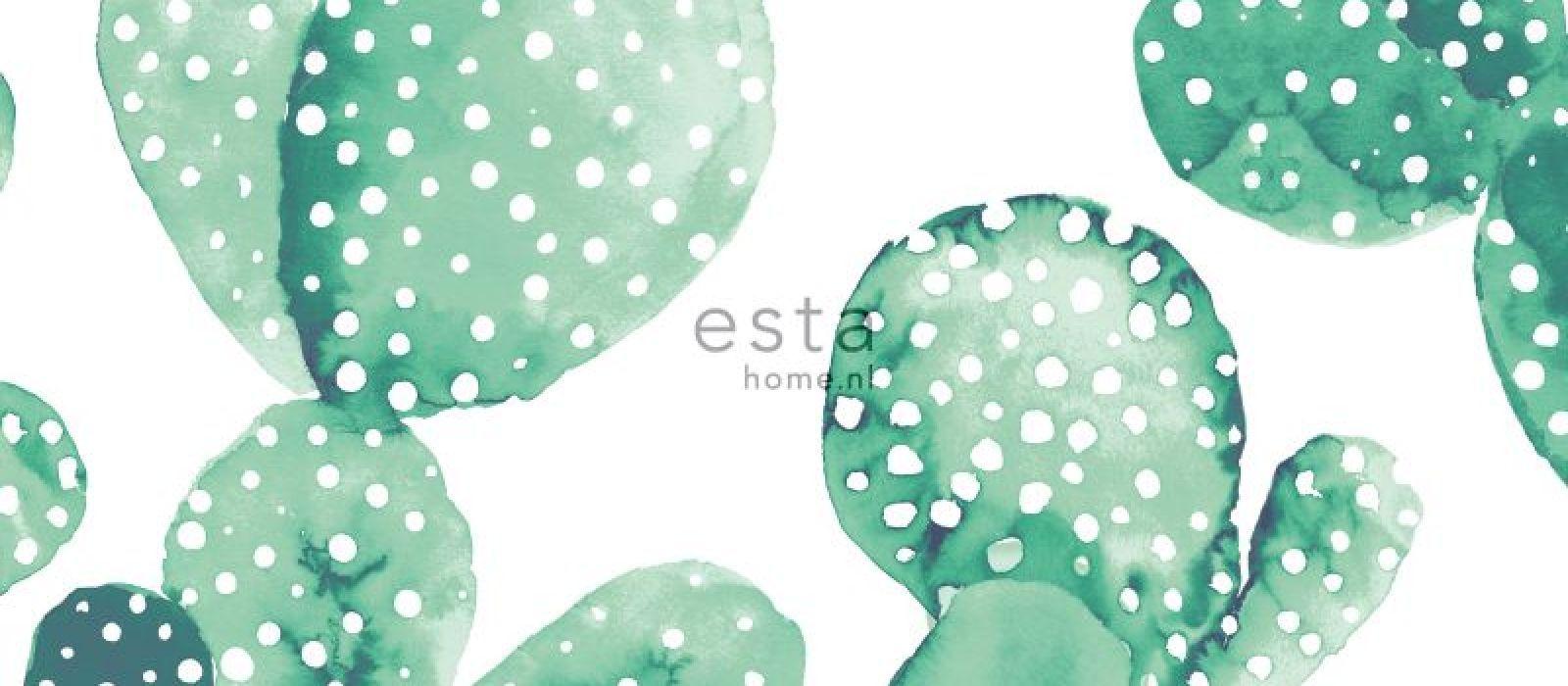 Greenhouse- mallisto tuo kasvihuoneen seinille. Mallisto on syntynyt luonnon innoittamana ja se sisältää siroja lehtiä ja kukkasia, leikkisiä kaktuksia, herkkiä höyheniä ja ihania skandinaavisia puunrunkoja. Mallisto on täynnä kasvien voimaa, joka on myös kasvamassa todelliseksi trendiksi sisustuksessa. Esta Home-brändille tyypillinen design ja värimaailma tuovat sisustukseen tyyliä.  Tapetin rullakoko 0,53 x 10,05 m. Tapetissa on vuorokohdistus 26,5 cm
