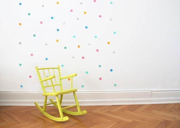 Wandsticker / Happy Konfetti (mit Bildern) Mädchenzimmer