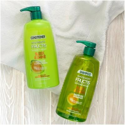 Garnier Fructis With Active Fruit Protein Sleek & Shine Shampoo ...