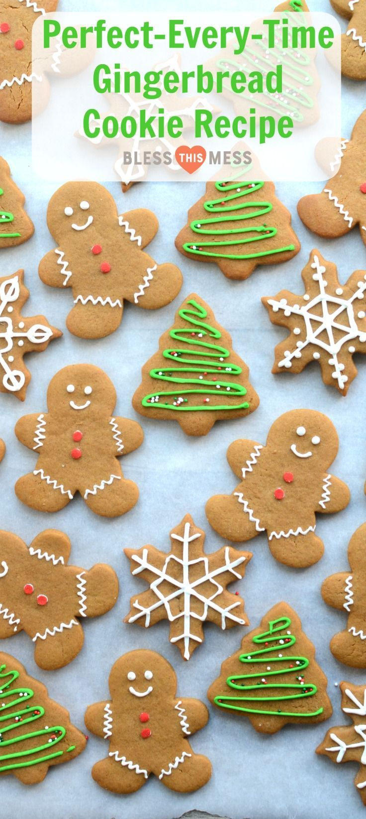 Classic Gingerbread Cookies Recipe | Soft Gingerbread Cookies