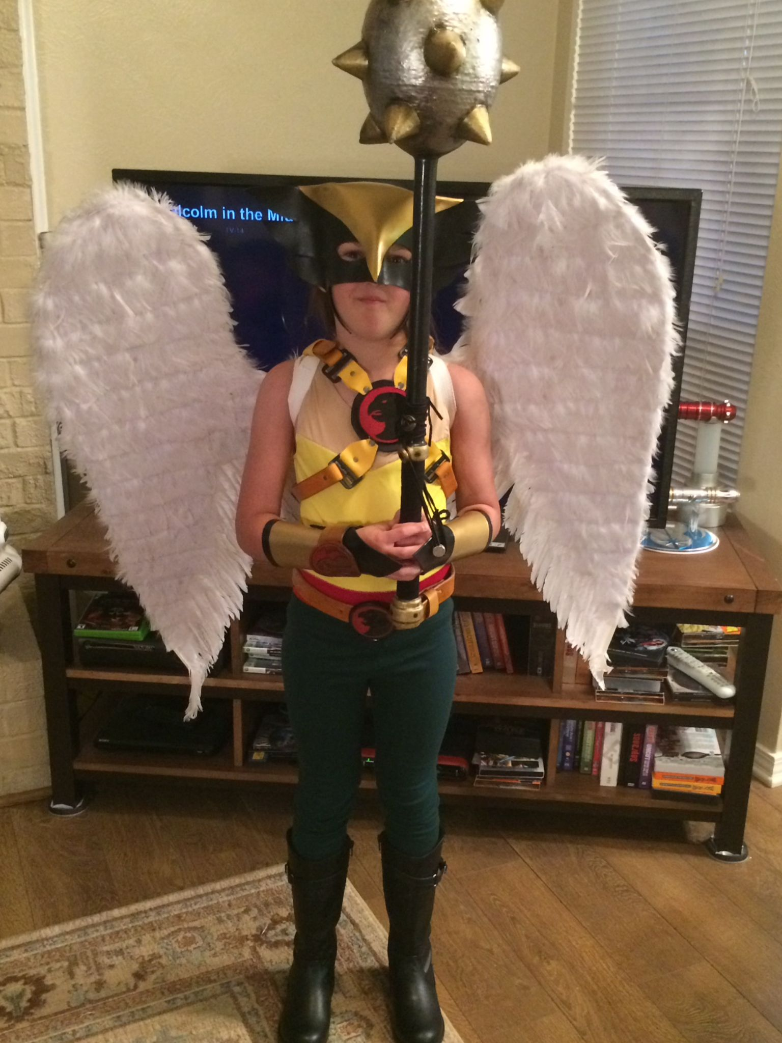 HawkGirl Halloween Costume | Hawkgirl, Halloween costumes and Costumes