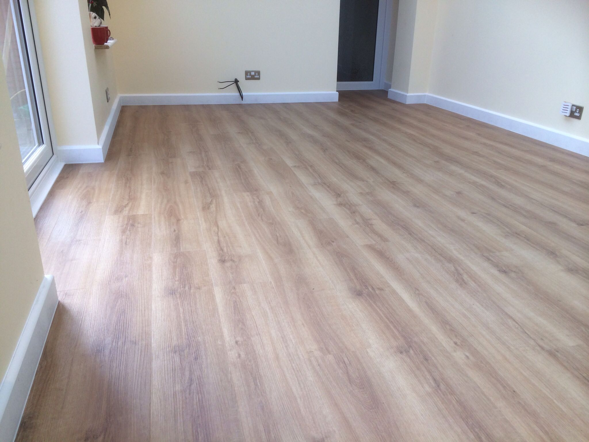 Luxury vinyl tile supplied and fitted