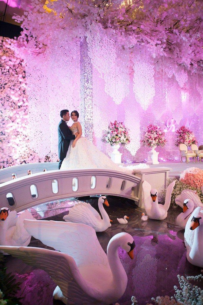 Pernikahan Natalia dan Randy di Jakarta Wedding