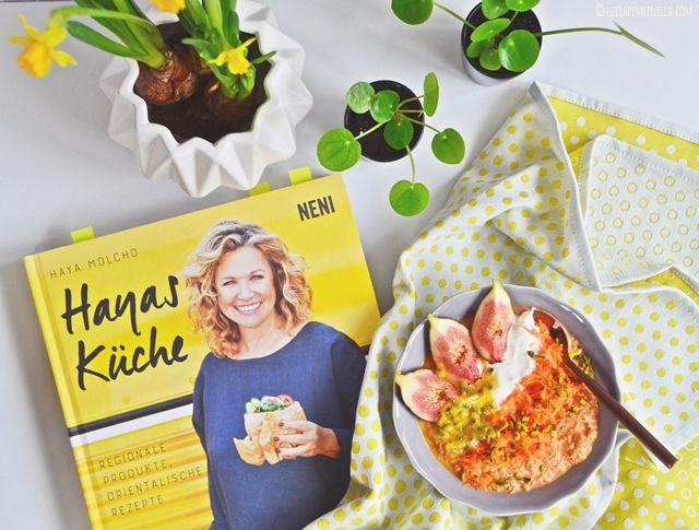 luzia pimpinella - breakfast club | rezept für overnight oats mit möhren / karotten inspiriert von hayas küche | buchtipp inklusive
