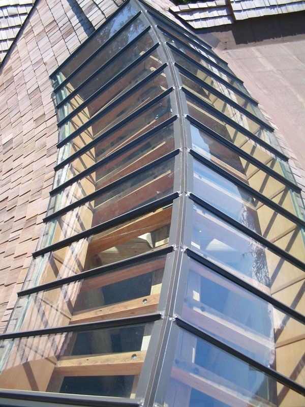 Cured Ridge Skylight Exterior Miscellaneous Skylight