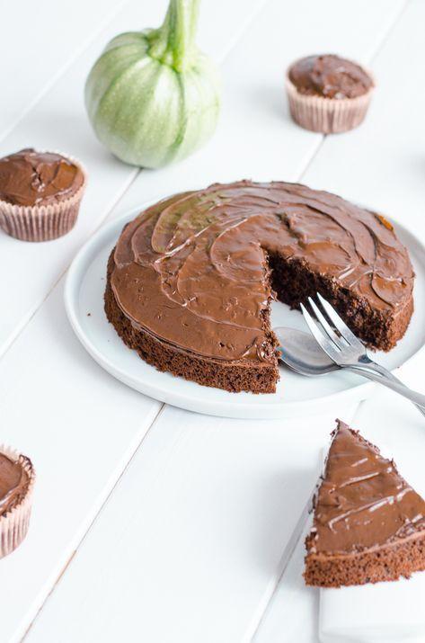 Gâteau au chocolat et à la courgette sans beurre   Gateau ...