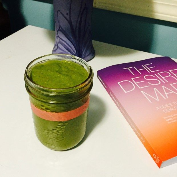DELICIOUS green smoothie from Not Your Grandma's Cookbook by Heather Stammen