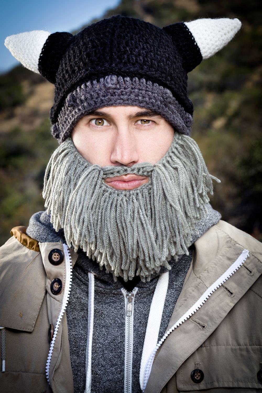 be3bde7a1 Grey Looter Barbarian Beard Head available at beardhead.com for $40 ...