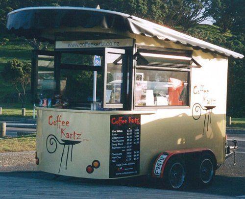Coffee Kartz Nz Ltd Coffee Trailer Mobile Coffee Cart
